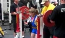 9-Year-Old 'Supergirl' Squats World Record Weight (Video)