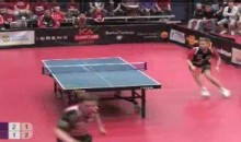 Check Out This Cool Ping Pong Spin-O-Rama Shot (Video)