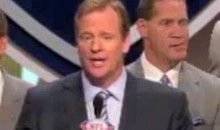 Roger Goodell Gets Booed At Draft, Silences Crowd With Moment Of Silence (Video)