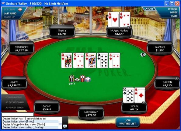 Online poker scams pokerstars