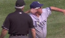 Joe Maddon Explodes, Ejects Entire Umpire Crew (Video)