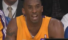 "Kobe Bryant Gets A Technical, Calls the Ref A ""F-ing Fag"" (Video)"
