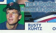 The 9 Goofiest Names in Sports