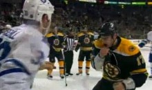 Frozen Fisticuffs Fight Of The Night — Lucic vs. Rosehill — 3/31/11