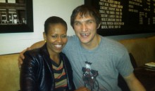 Ovechkin Grabs A Drink With The First Lady (Pic)