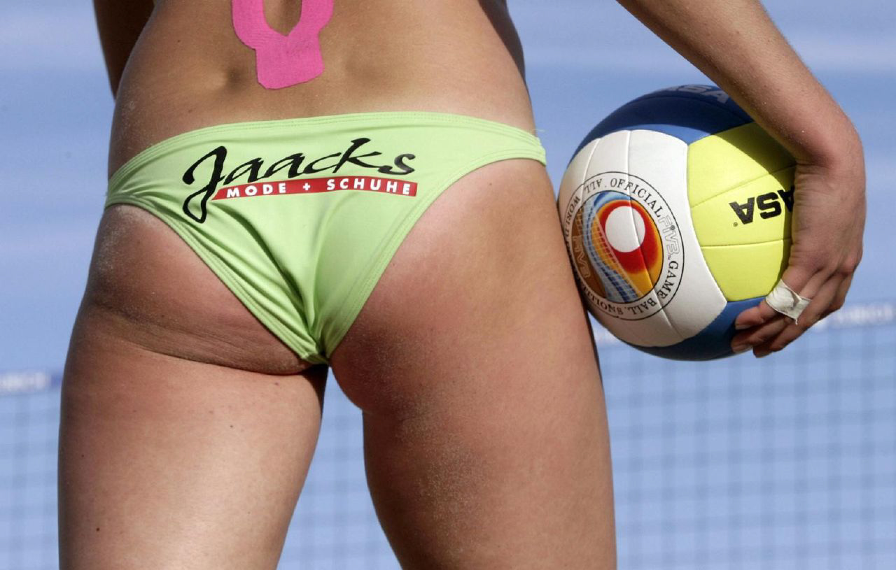 Brazil Body Paint Volleyball