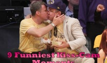 9 Funniest Kiss-Cam Moments