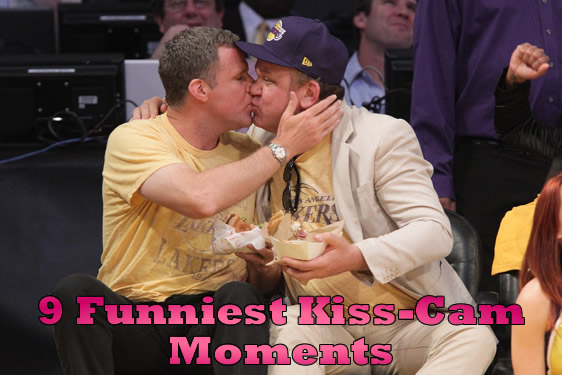 Funniest Kiss Cam Moments