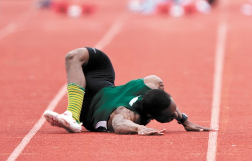 Track sprinter picture of the day anyone up for a game of twister
