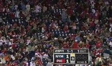 Fans At Citizens Bank Park React To News Of Osama Bin Laden's Death (Video)
