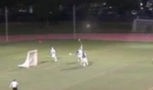High School Lacrosse Player Scores 80-Yard Goal (Video)
