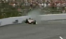 Here Is Footage Of JR Hildebrand Losing The Indy 500 On The Final Lap (Video)