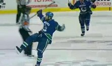 Kevin Bieksa's OT Series-Clinching Goal Was As Ugly As OT Series-Clinching Goals Come (Video)