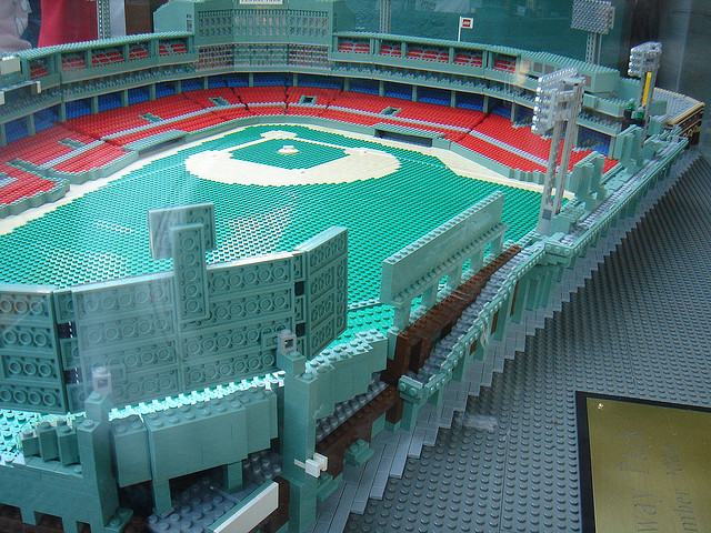 Fenway Park In Lego Form Pics Total Pro Sports