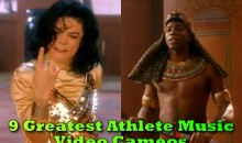 9 Greatest Athlete Music Video Cameos