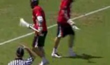 Maryland Terrapins Lacrosse Team Pulls Off The Hidden Ball Trick To Perfection (Video)