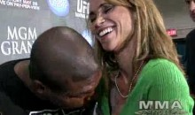 Watch Rampage Jackson Almost Motor-Boat Reporter Karyn Bryant Following UFC 130 (Video)