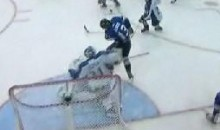 Sea Dogs' Tomas Jurco Uses His Head To Score Game-Tying Goal Against The Ice (Video)