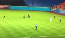 There Was A Streaker At The Marlins Game Last Night (Video)