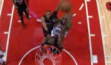 Watch Taj Gibson Posterize Dwyane Wade (Video)