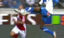 This Kung-Fu Kick To The Face Is The Worst Soccer Challenge Ever