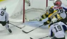 Tim Thomas Made The Save Of The Playoffs Last Night (Video)