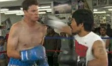 Watch Daniel Tosh Take A Punch From Manny Pacquiao (Video)