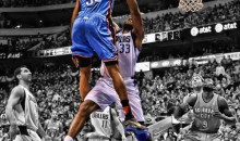Kevin Durant Posterized Brendan Haywood Last Night (Video)
