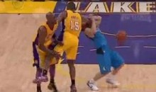Lakers Lose Again, Ron Artest Clotheslines J.J. Barea In The Face (Video)