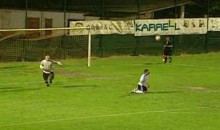 Backspin Turned This Penalty Kick Miss Into A Penalty Kick Goal (Video)