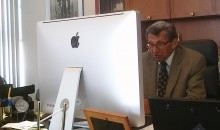 Picture Of The Day: Big Enough Screen For You JoePa?