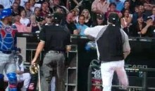 Ozzie Guillen Gets Ejected, Kicks Geovany Soto's Mask (Video)