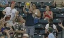 Royals Fan Catches Foul Ball With Popcorn Bucket (Video)