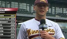 The Gophers' Luke Rasmussen Give A Great Line-Up Introduction (Video)