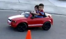Young Asian Kid Is A Drifting Master (Video)