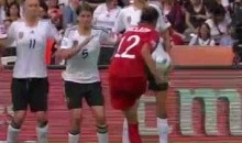 Canada's Christine Sinclair Breaks Her Nose, Scores Goal Of The Tournament (Video)