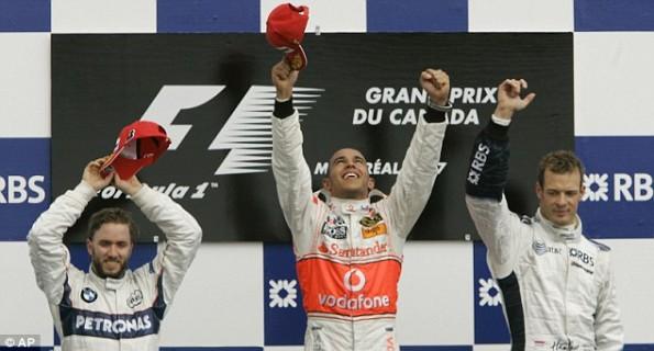lewis hamilton 2007 canadian grand prix montreal