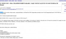 The Miami Heat Are Already Planning Their Victory Parade On Craigslist