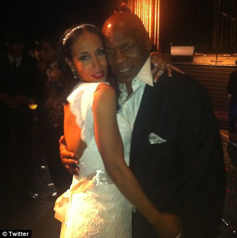 Mike Tyson Threw His Own Surprise Wedding Last Weekend.