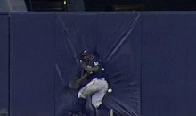 Nyjer Morgan Had A Violent Run-In With The Outfield Wall (Video)
