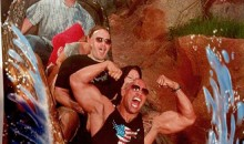 Picture Of The Day: The Rock Takes On Splash Mountain