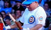 Watch Carlos Zambrano Fail, Then Succeed At Snapping A Bat Over His Knee (Video)