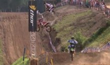 Chad Reed Survives High-Flying Motocross Crash, Finishes Race (Video)