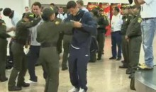 England's U20 Team Received An Awkward Welcome At A Colombian Airport (Video)