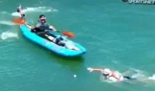 Giants Fan Gets Run Over By Kayak In McCovey Cove (Video)