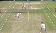 Seniors Provide Incredible Rally At Wimbledon (Video)