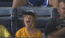 Some Fans Went A Little Wacko During The Braves vs. Pirates 19-Inning Marathon (Video)
