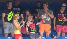 It Was 80s Night At The Skydome Last Night (Pics)