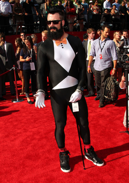 Brian Wilson Attends The Espys In A Spandex Tuxedo Pic