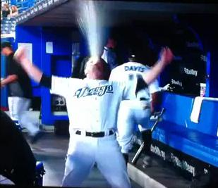 You Think The Jays' Mike McCoy Was Happy To Be Starting At Second Base...